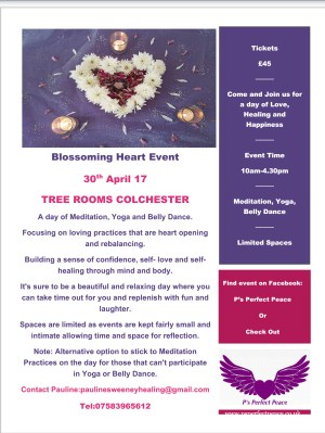 Blossoming Heart Event