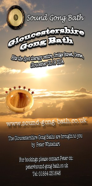 Gloucestershire Gong Bath Meditation